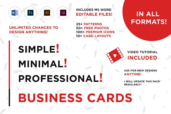 modern professional business cards stationery templates creative