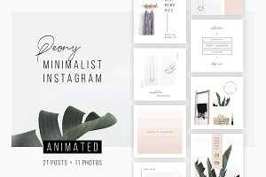 ANIMATED Instagram Posts – Peony