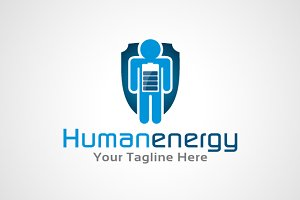 Human Energy Logo Design / icon