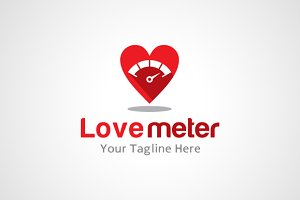 Love Meter Logo Design / icon
