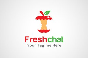Fresh Chat Logo Design / icon