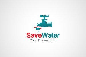 Save Water Logo Design / icon