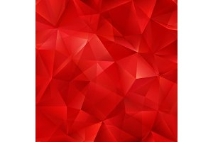 Vector red bright background with