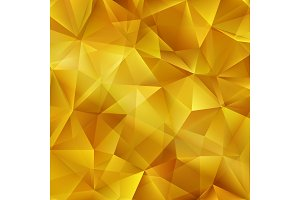 Vector Gold bright background with