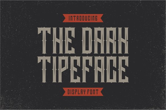Darkrise Typeface in Blackletter Fonts - product preview 2