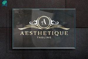 Aesthetique - Vintage Elegant Logo