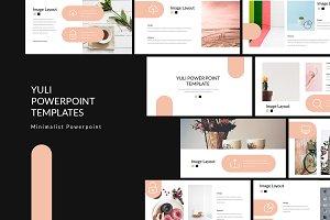 Yuli Lookbook Powerpoint Templates