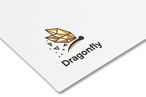Dragonfly Logo Design