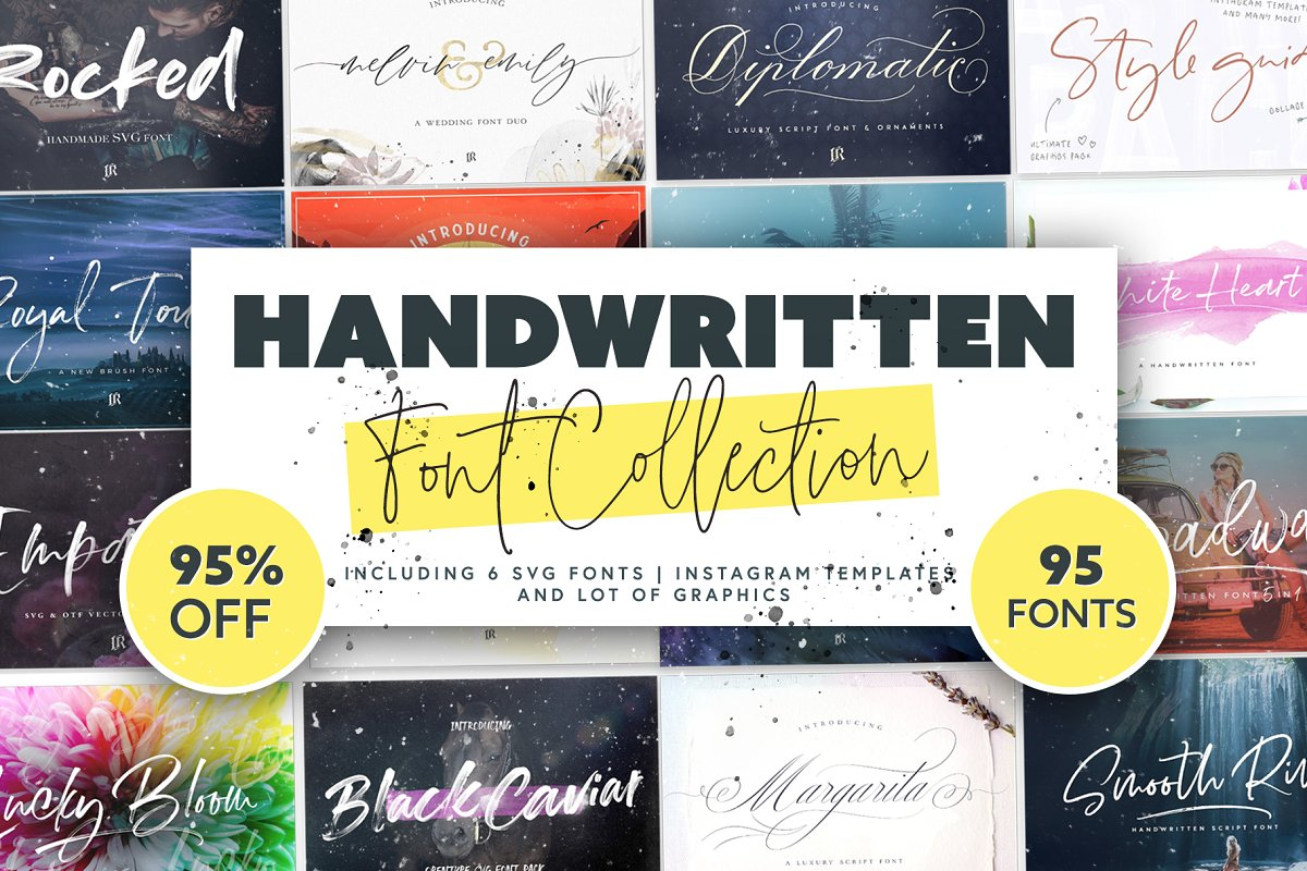95 Fonts Collection
