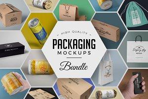 79 Amazing Packaging Mockups Bundle
