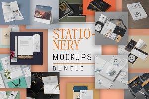 111 Stationery Mockups Bundle