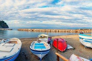 Lacco Ameno harbour ,  Ischia island