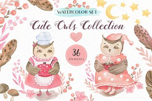 Cute Owls Collection