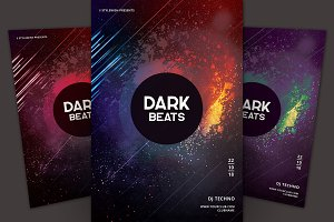 Dark Beats Flyer