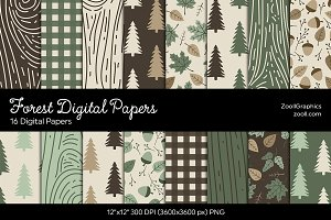 Forest Digital Papers