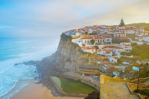 Azenha do Mar skyline Portugal