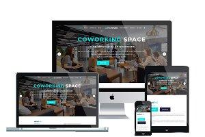 ET Cowork - Coworking space website
