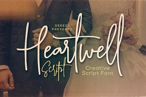 Heartwell Script Font
