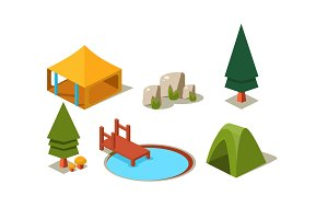 Vector set of isometric forest