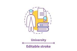 University concept icon