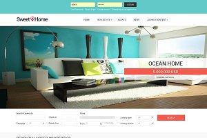 Sweet Home - Realty Joomla template