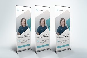 Dental Clinic - Roll Up Banner