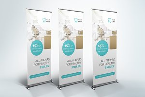 Dental Clinic - Roll Up Banner