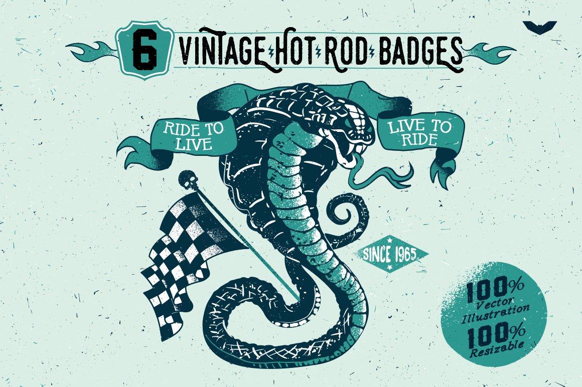 Hot rod Photos, Graphics, Fonts, Themes, Templates ~ Creative Market