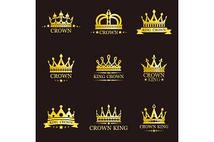 King or queen crowns for brand