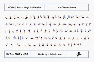 Aerial Yoga Flow Sequence Collection