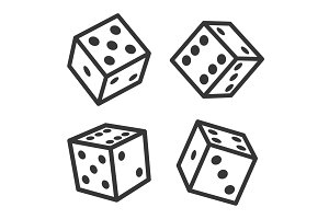 Dice Cubes Set