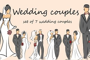 Wedding couples