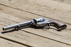 pistol handgun revolver