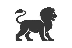 Lion Logo Icon