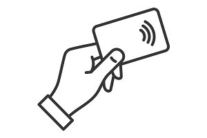 NFC Payment Credit Card Icon
