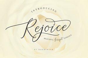 Rejoice Typeface
