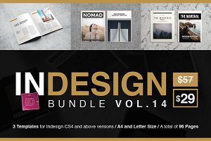 InDesign Templates Bundle 14