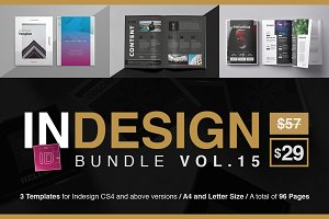 Indesign Templates Bundle 15