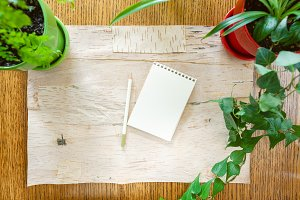 Leave a note on Blank Sketch Pad, Pe