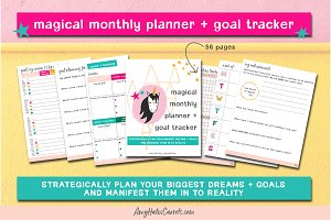 the ultimate inspiring life planner stationery templates