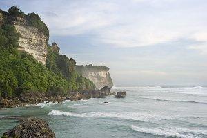 Tropical landscape. Bali