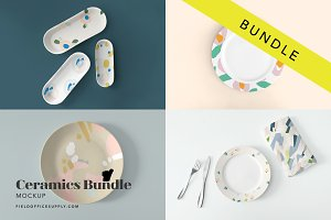 Ceramics Mockup Bundle