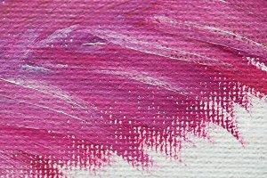 Purple paint oil surface