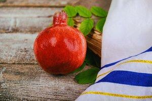 rosh hashanah pomegranate holiday