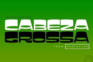 AKOFAType Cabeza Grossa
