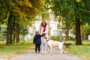 family, pet, domestic animal and peo