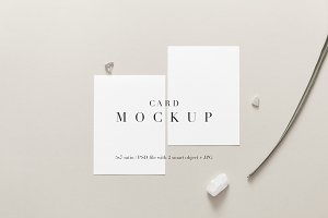 Clean & modern Stationery Mockup