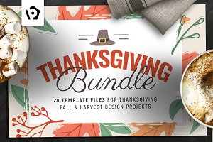 Thanksgiving Flyer / Poster Bundle