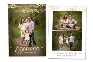 Christmas Card Template CC0145