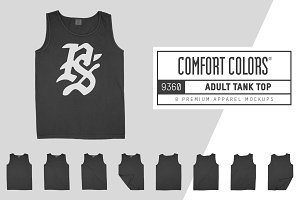 Comfort Colors 9360 Tank Top Mockups